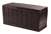 Садова скриня SHERWOOD STORAGE BOX темно-коричневий (Keter), фото 1