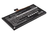 Аккумуляторная батарея CameronSino для смартфона HTC One V (T320e), 1500mAh/5.55Wh, внутренний