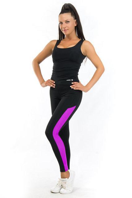 Женская одежда для спорта (42,44,46,48,50,52,54) (фуксия) одежда для йоги и фитнеса из бифлекса
