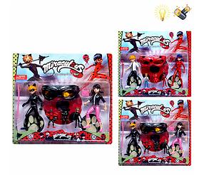 Игровой набор Леди Баг и Супер Кот с маской H631