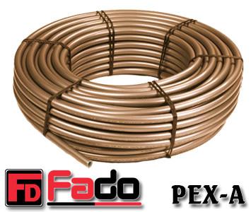 Труба для теплого пола Fado PEX-A 16х2 с кислородным барьером