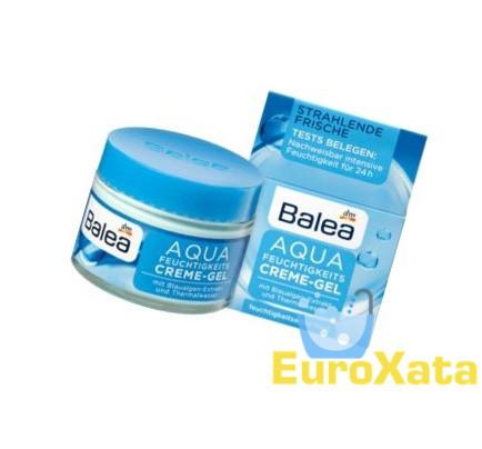 Увлажняющий крем-гель для лица BALEA Aqua (50мл) Германия
