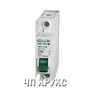 Автоматический выключатель  1р 25А C