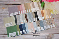 Набор образцов тканей Zweigart Belfast 32 ct. арт. 3609 (63 цвет)