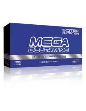 Scitec Nutrition Mega Glutamine (120 капс.)