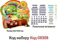 Шкільний стенд для початкового класу Код-08358