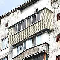 Балкон под ключ в серии дома БПС-6