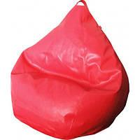 Кресло груша Фреш Бордовый (Экокожа искусственный эко-материал)