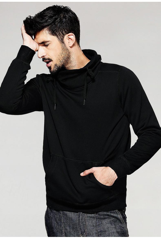 5a51c61c2834 Копія Копія Мужская стильная толстовка с капюшоном (всесезонка) черная