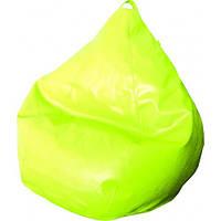 Кресло груша Фреш Лимон (Экокожа искусственный эко-материал)