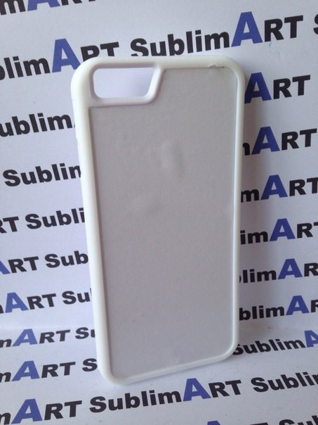 Чехол для 2D сублимации резиновый (TPU) Iphone 6/6s белые