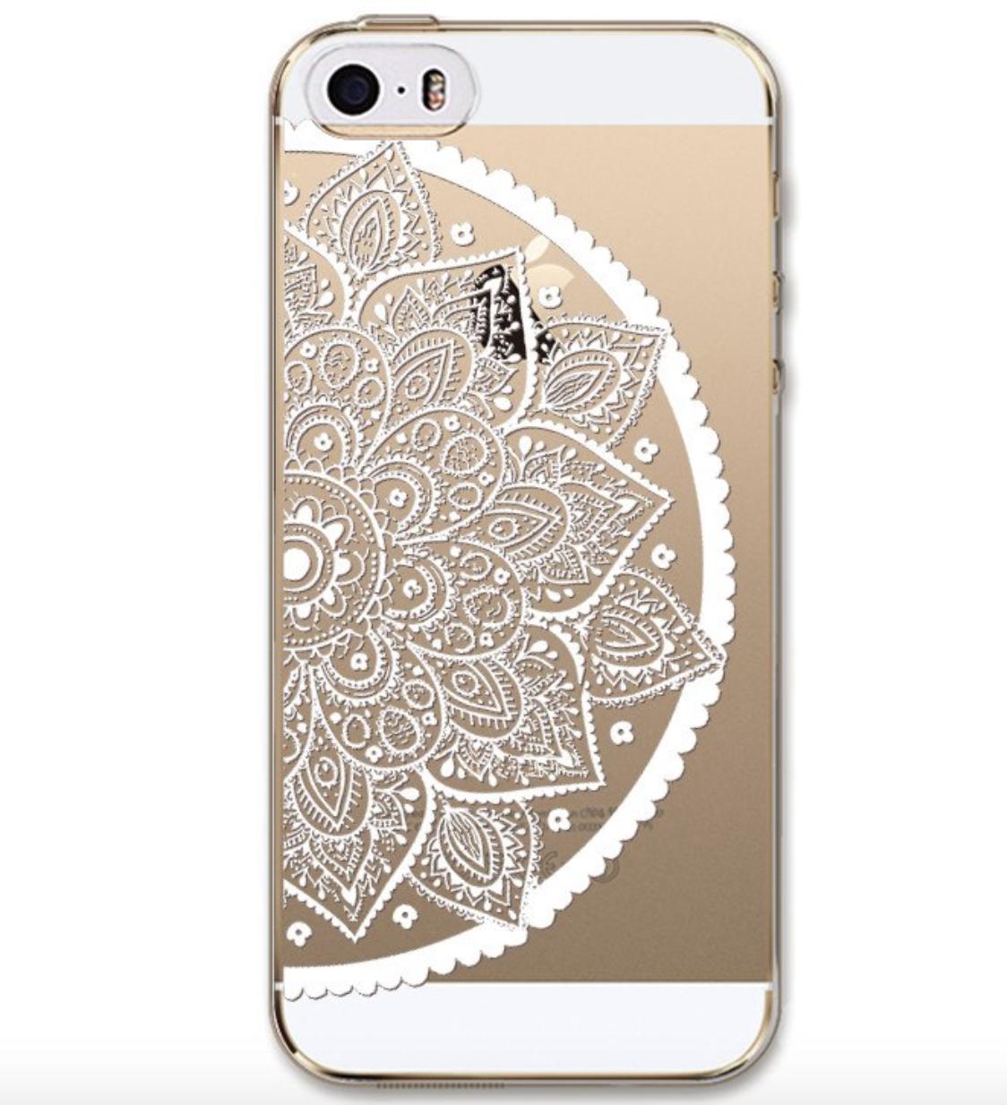 Чехол накладка силикон Ловец снов 0,3 мм для iPhone 6/6s