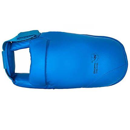 Футы для каратэ стопа синие, фото 2