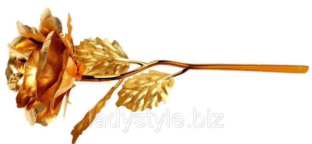 Потрясающая золотая роза от студии LadyStyle.Biz