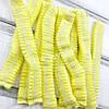 Одноразовые шапочки спанбонд на двойной резинке 50 шт. (желтый) Polix Pro & Med