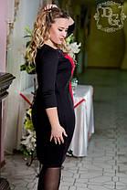 """Д385/1 Платье """"Динара"""" размеры 48-56, фото 3"""