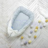 Кокон Маленькая Соня Mon Cheri серый детский арт.502552