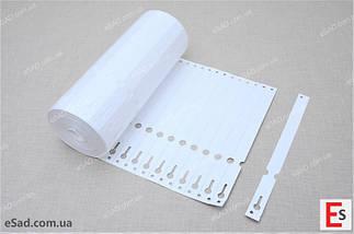 Етикетки для рослин TYVEK петля білі 1,7 х 22 см, 1000 шт, фото 2