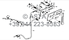 Механизм управления дросселем - устройство выключения на YTO 1304