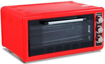 Электродуховка SATURN ST-EC1075 Red, электрическая духовка, электропеч