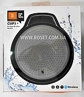 Портативная колонка - Portable Wireless Speaker JBL Harman Clip3+