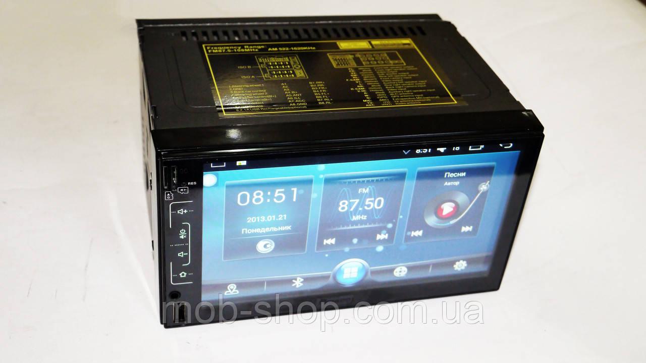 2 din Автомагнитола пионер Pioneer FY6511 Android GPS+WiFi 1/16 Гб (2 дин магнитола на андроиде с навигацией)