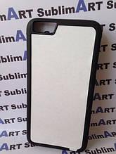 Чехол для 2D сублимации резиновый (TPU) Iphone 6/6s Plus черный
