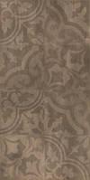 Керамическая плитка пол/стена Kendal коричневый орнамент