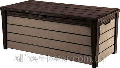 Садова скриня BRUSHWOOD STORAGE BOX 455L коричневий (Keter)