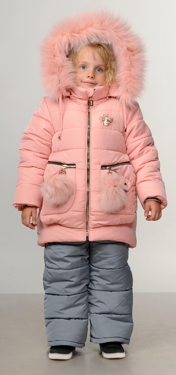 Детские зимние комбинезоны для девочки интернет магазин 22-28 -  Ukraine-fashion Модно не 3b120ea59a1