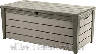 Садова скриня BRUSHWOOD STORAGE BOX 455L капучіно (Keter)