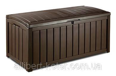 Садова скриня GLENWOOD STORAGE BOX 390L коричнева (Keter)