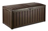 Садова скриня GLENWOOD STORAGE BOX 390L коричнева (Keter), фото 1