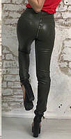 Женские брюки-лосины сзади на змейке, фото 1