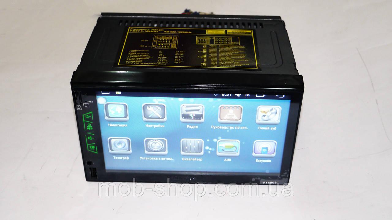 Автомагнитола пионер Pioneer FY6509 2din Android GPS+WiFi 1/16 Гб