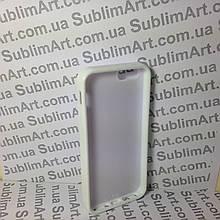 Чехол для 2D сублимации резиновый (TPU) Iphone 4/4S белый