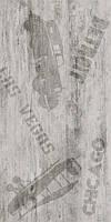 Керамическая плитка пол Vesta декор ректификат белый