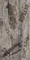 Керамічна плитка підлогу Vesta декор ректифікат коричневий
