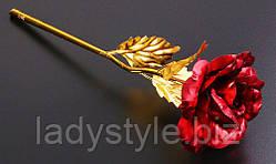 Потрясающая алая роза от студии LadyStyle.Biz