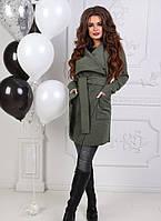 Пальто женское кашемировое мод.101 , фото 1