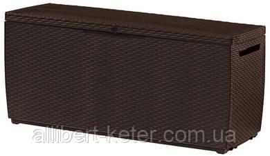 Садова скриня CAPRI STORAGE BOX 305L темно-коричнева (Keter)
