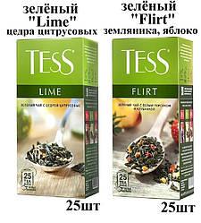 Чай Tess ''Lime,Flirt'' зелёный 25шт