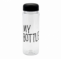 Бутылочка для воды My Bottle в чехле Черная