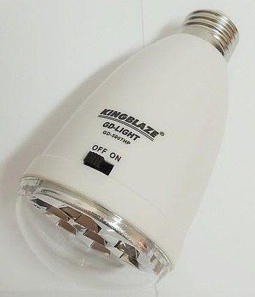 Аккумуляторная лампа Kingblaze GD-Light GD-5007HP, светодиодная лампа GD 5007 HP