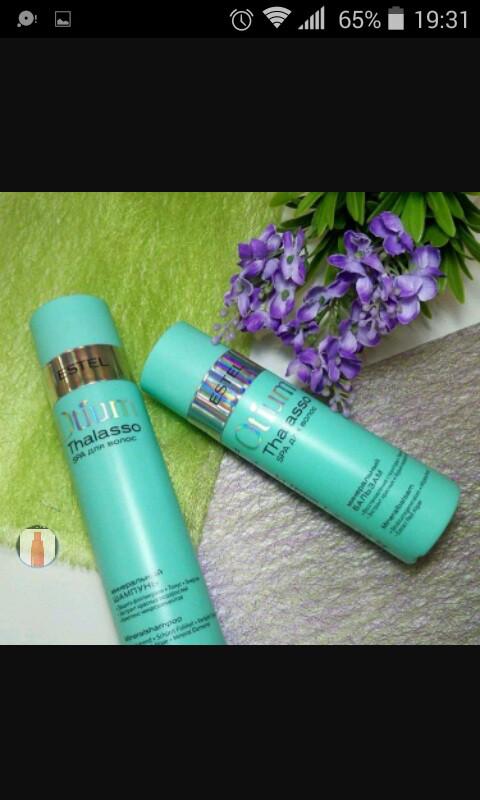 Минеральный шампунь СПА для волос250 мл.