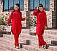 """Стильный женский брючный костюм в больших размерах """"Дубаи Рубашка Туника"""" в расцветках, фото 5"""