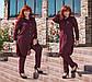 """Стильный женский брючный костюм в больших размерах """"Дубаи Рубашка Туника"""" в расцветках, фото 2"""