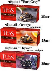 Чай Tess ''Earl Grey,Orange,Thyme'' чёрный 25шт