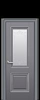 Двери межкомнатные Новый Стиль Имидж (Стекло сатин с молдингом и рисунком) ПП Premium