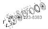 Сцепление в сборе (12-дюймовый) на YTO-X1304